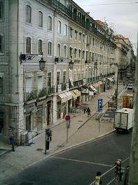 View from Pensão Praça da Figueira