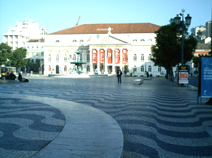Praça Rossio Teatro
