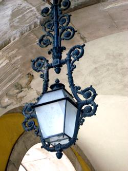 Praça do Comércio - lamp